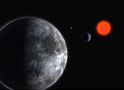 Gliese 581, salah satu planet ekstrasurya