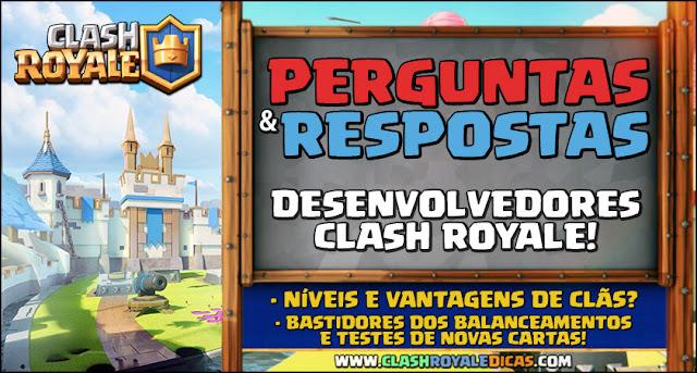 Níveis e vantagens de clãs no Clash Royale
