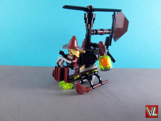 Set The LEGO Batman Movie 70913 Scarecrow Fearful