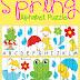 Free Spring Alphabet Puzzle