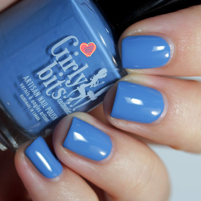 Girly Bits Forget Me? NOT! swatch by Streets Ahead Style