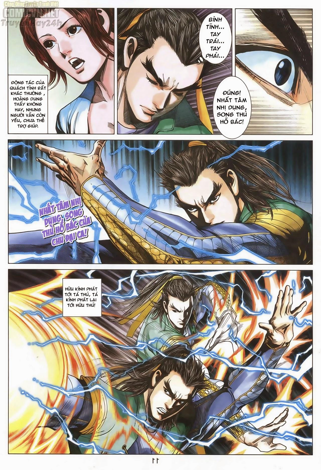 Anh Hùng Xạ Điêu anh hùng xạ đêu chap 67: quyết chiến hiên viên đài trang 10