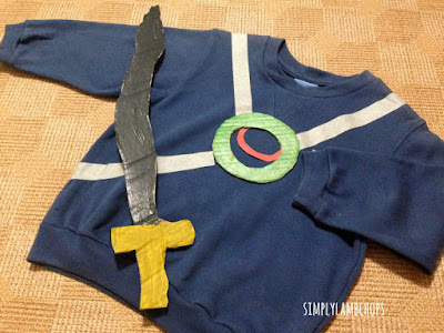 Simply Lambchops DIY Sea Quest costume