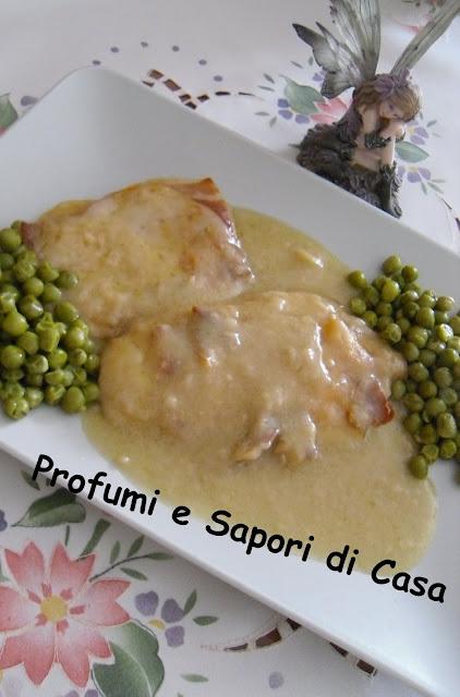 scaloppine di pollo al prosciutto con dado delicato fattoria italia