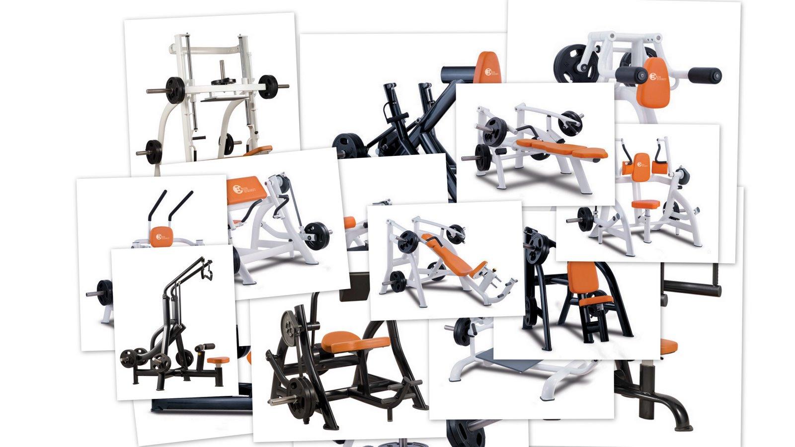 Maquinas para gimnasio muscul fitness m quinas para - Equipamiento de gimnasios ...