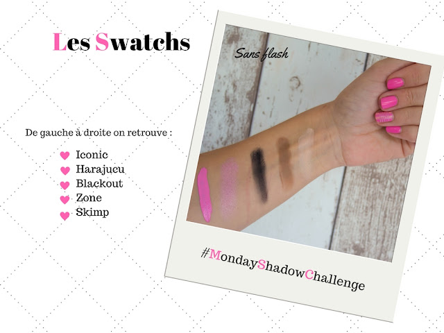 Monday Shadow Challenge : I'm a Barbie Girl :)