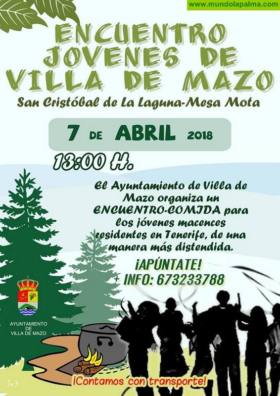 Encuentro Jovenes de Villa de Mazo en La Laguna