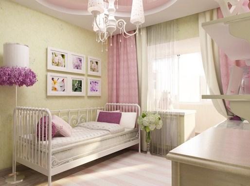 kamar tidur anak perempuan minimalis paling elegan