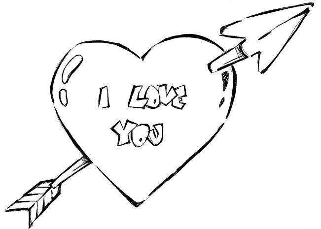 Desenhos De Amor Para Colorir Desenhos De Amor Pintar