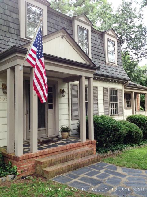 Front Porch Flag Julia Ryan
