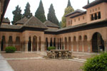 El Patio de los Leones, en La Alhambra