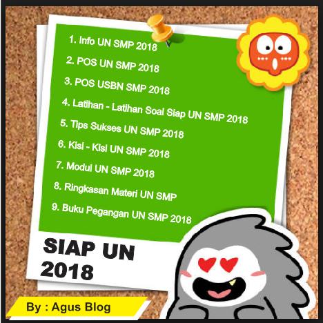 Sukses UN SMP 2018
