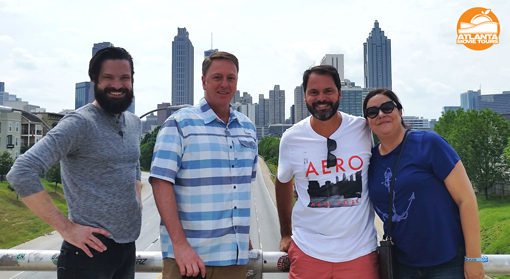 Atlanta Movie Tours | Best of Atlanta tour | At Jackson Street Bridge