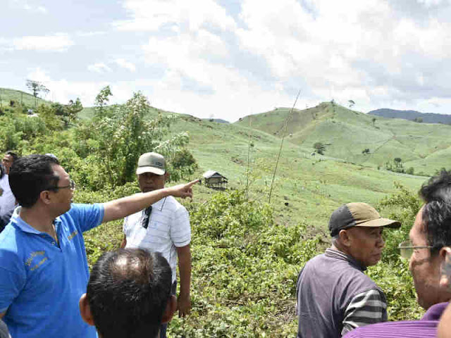 Zulkieflimansyah Prihatin Perambahan Gunung Alam untuk Jagung dan Padi di Sumbawa