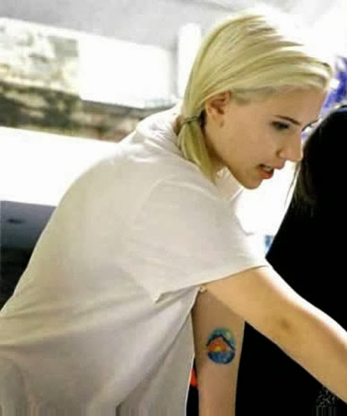 Scarlett Johansson Tattoos Meanings and Photos | Home Finance