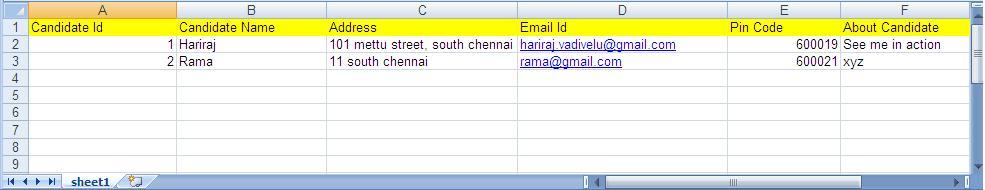 Hariraj Sundaravadivelu: Reading data from an uploaded Excel