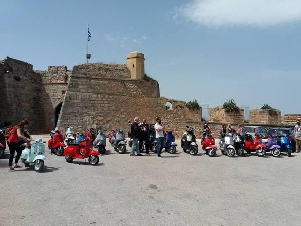 Οι φίλοι του Vespa Club Αχαΐας ήρθαν στο Ναύπλιο και πέρασαν υπέροχα!