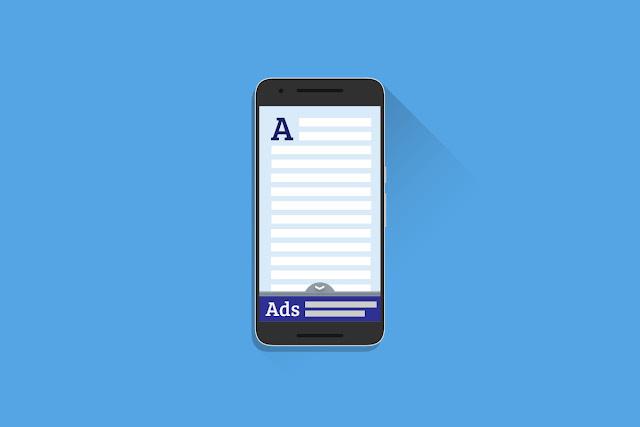 Cara Membuat Anchor Ads Selalu Berada Dibawah Layar HP