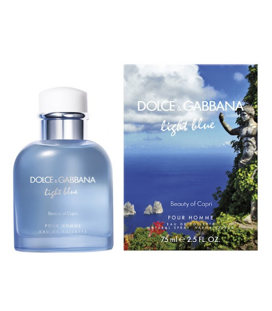 Dolce & Gabbana Light Blue: Beauty of Capri e Love in Capri