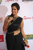 Sindhu looks fabulous in Black Saree designer choli at Mirchi Music Awards South 2017 ~  Exclusive Celebrities Galleries 006.JPG