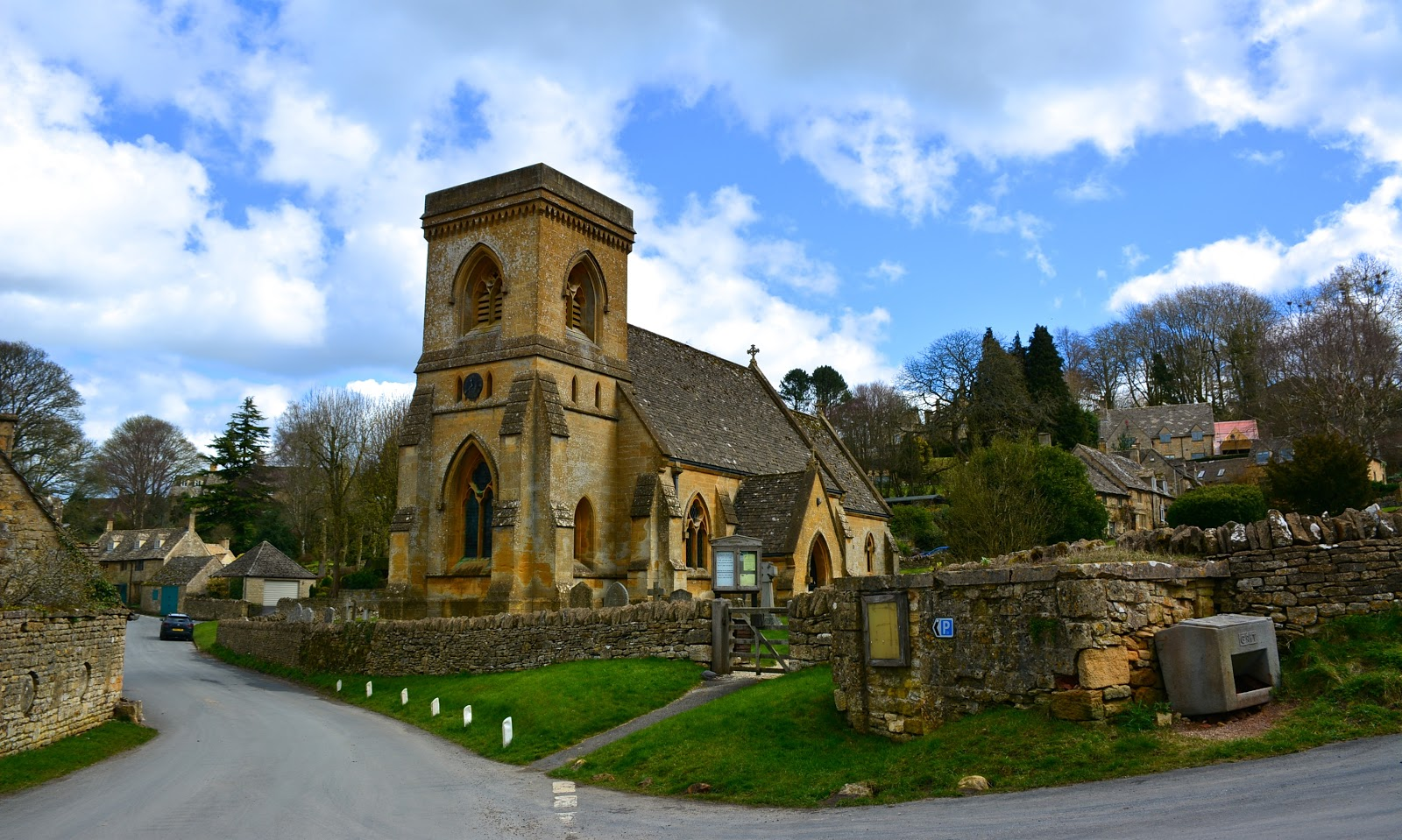 Snowshill village in the Cotswolds