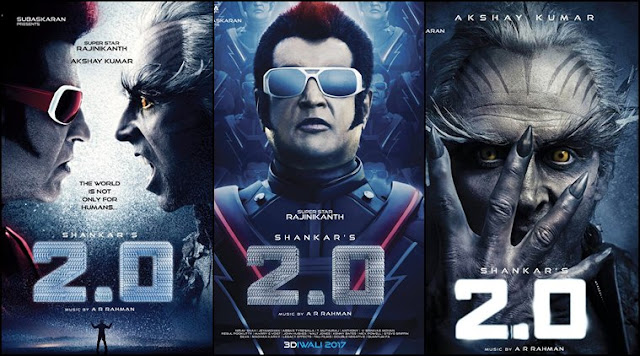 2.0, 2.0 Movie, 2.0 Poster, 2.0 First Look, 2.0 Rajinikanth, 2.0 Akshay Kumar