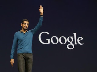 gaya berpakaian bos google sundar pichai