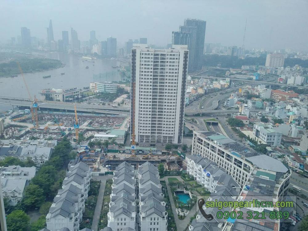 Cho thuê căn hộ Saigon-Pearl Topaz 1 tầng 29 nội thất mới đẹp - hình 3