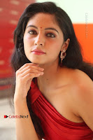 Actress Zahida Sam Latest Stills in Red Long Dress at Badragiri Movie Opening .COM 0201.JPG