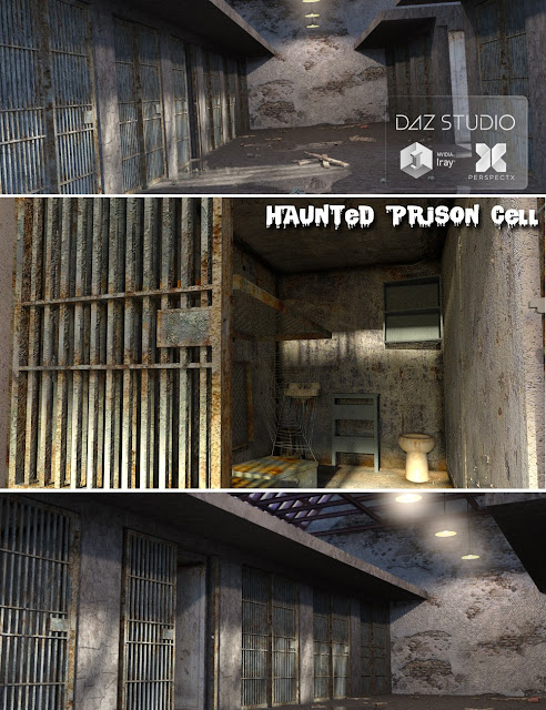 Haunted Prison Cell