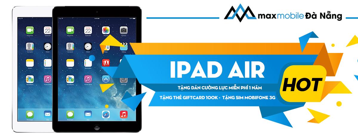 Ipad air giá rẻ tại Đà Nẵng