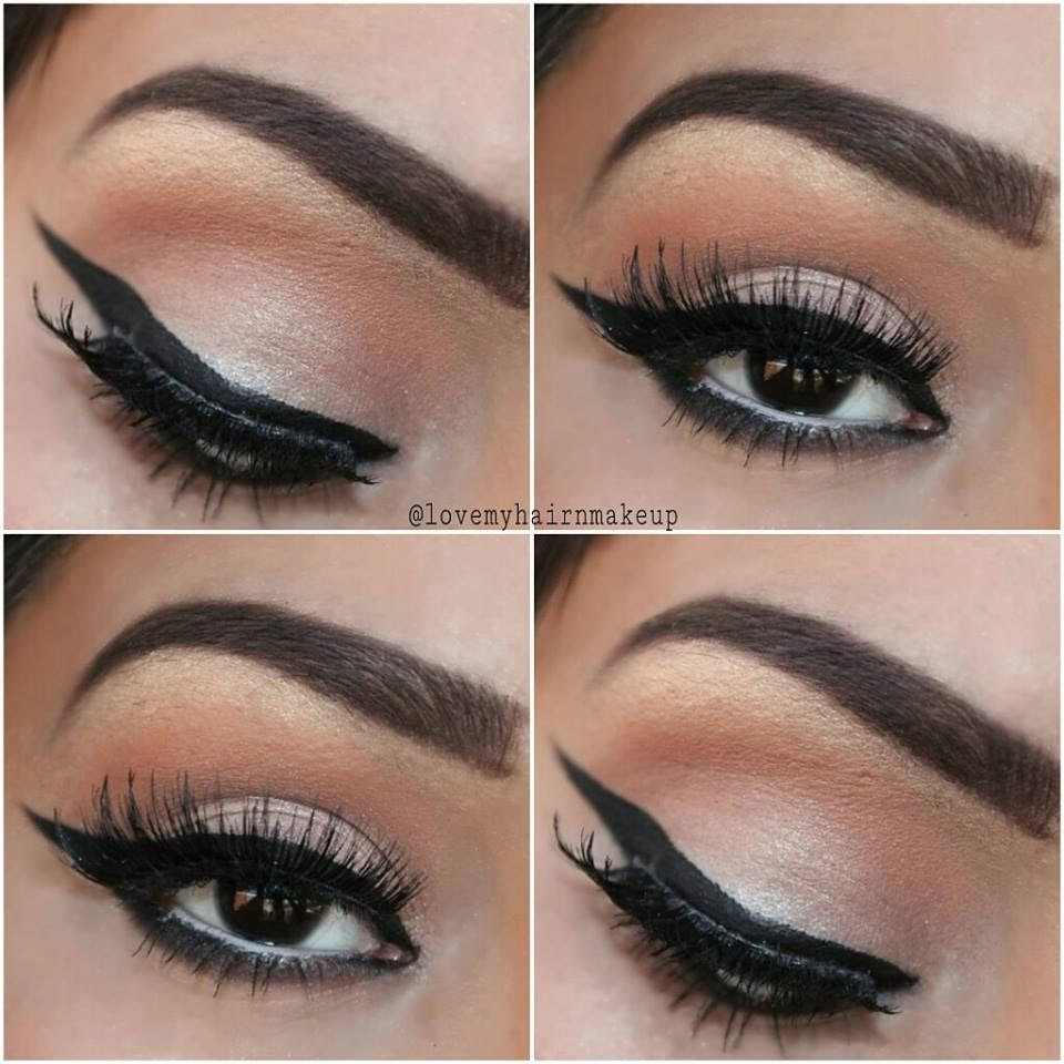 How to: Winged Eyeliner Tutorial for beginners - Indian ...