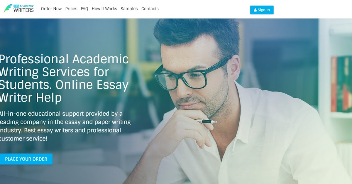 Essay writing service college