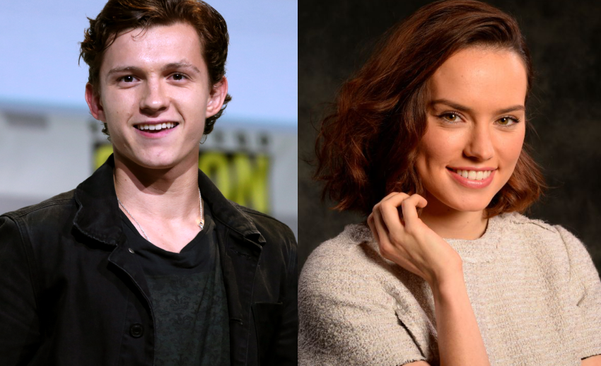 "Tom Holland se junta à Daisy Ridley na adaptação de ""Chaos Walking"""