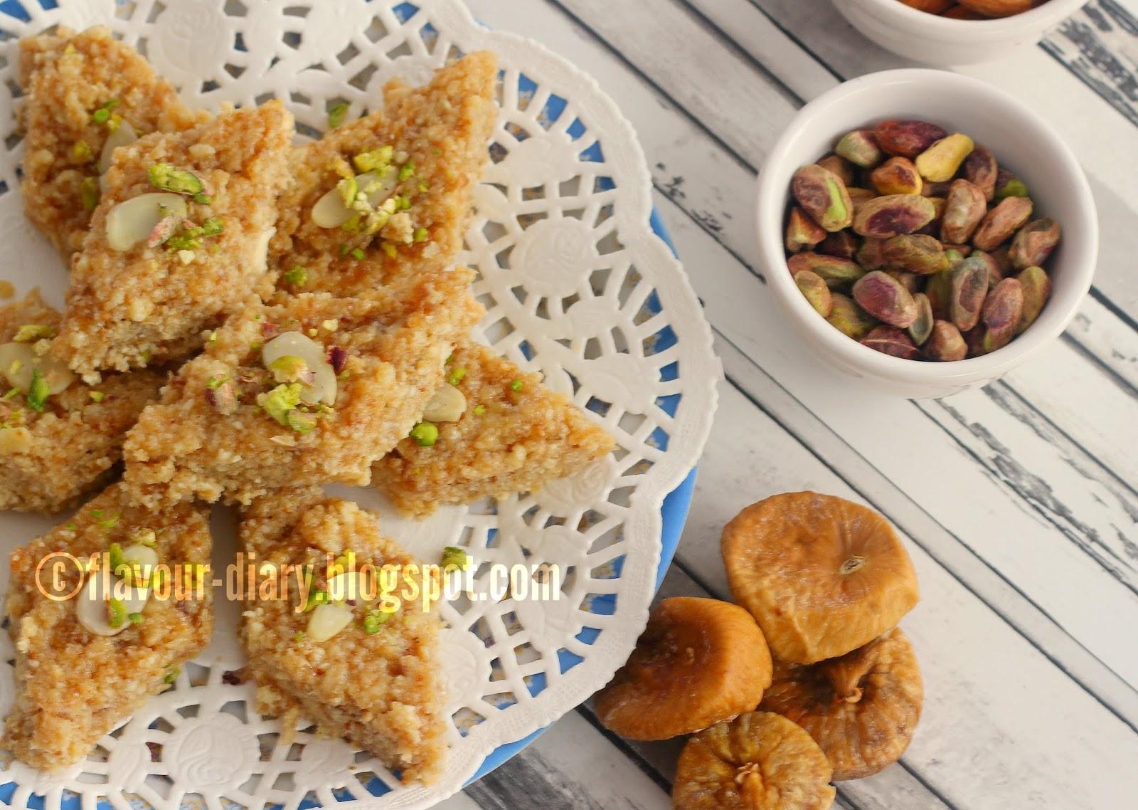 Anjeeri Kalakand Indian Milk Fudge kalakand Recipe