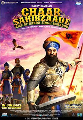 Chaar Sahibzaade 2 2016 Punjabi WEBRip 480p 400mb ESub