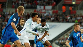 Video Gol Inggris vs Slovakia 2-1 Kualifikasi Piala Dunia 2018
