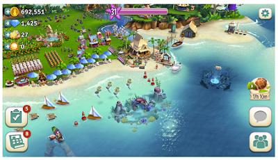 Download FarmVille Tropic Escape MOD APK v1.37.1520 (Unlimited Gems)