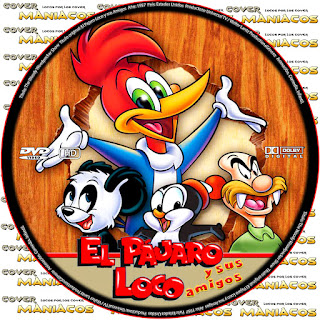 GALLETA EL PAJARO LOCO Y SUS AMIGOS - THE WOODY WOODPECKER SHOW [COVER - DVD]