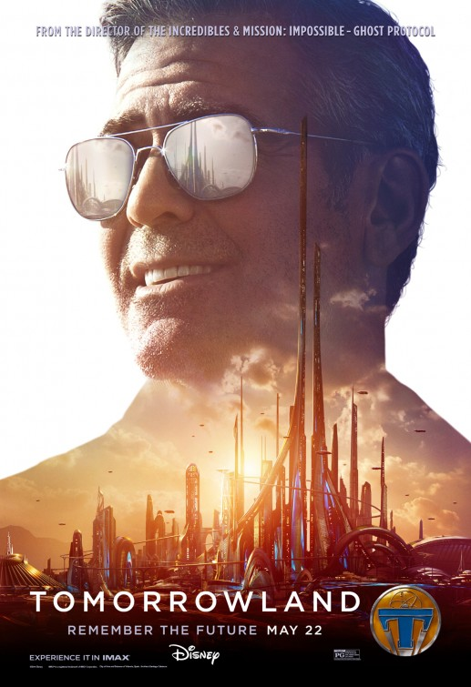 Tomorrowland Frank Walker movie poster