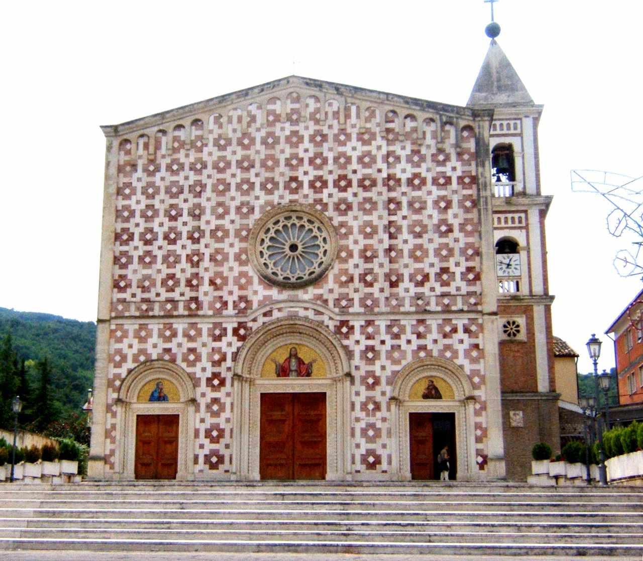 Manoppello, santuário do Véu da Verônica