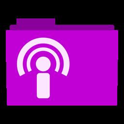 Posdcast Folder Icon
