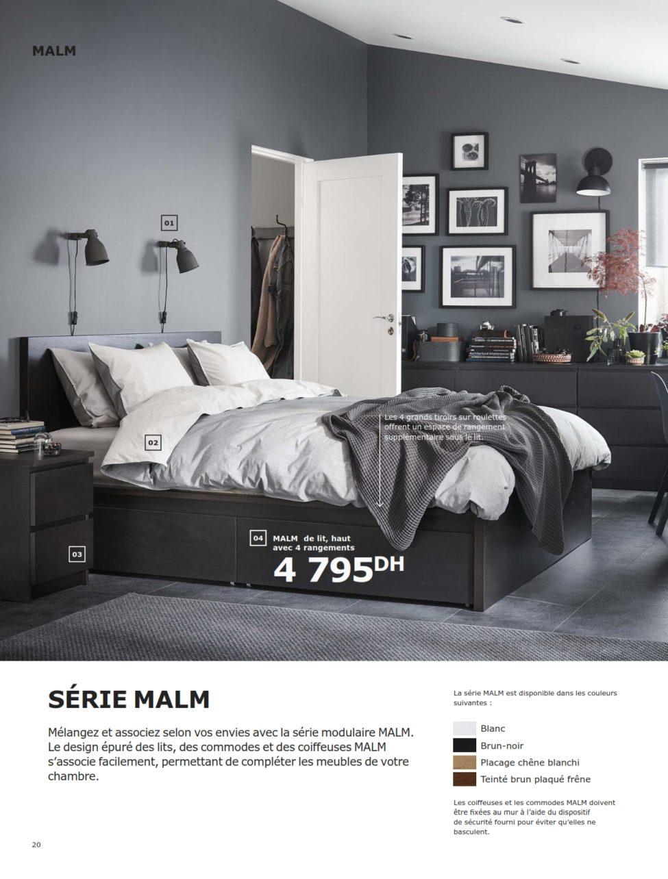 Agreable Dépliant IKEA Maroc Chambres à Coucher 2019