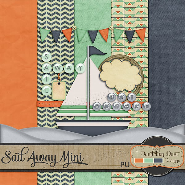 Facebook Freebie Sail Away by Dandelion Dust Designs