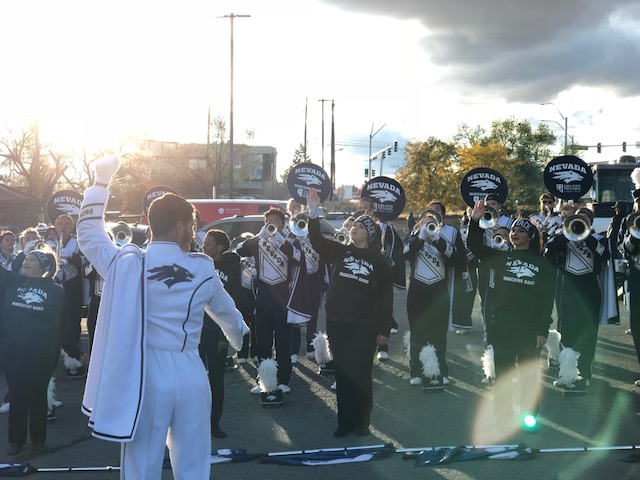 Nevada wolf pack band