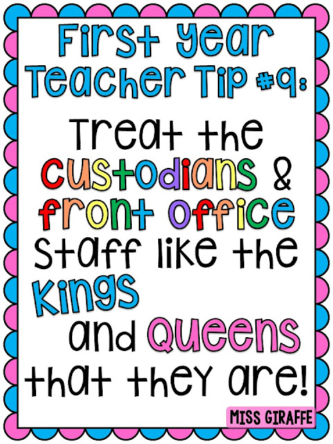 Sooo many first year teacher tips to help new teachers with all the things they don't teach you in college!