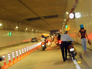 The first tunnel built in the city of Ho Chi Minh (Vietnam)