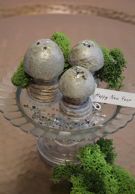 Diy neujahrspilze gl ckspilze aus beton for Knetbeton selber mischen
