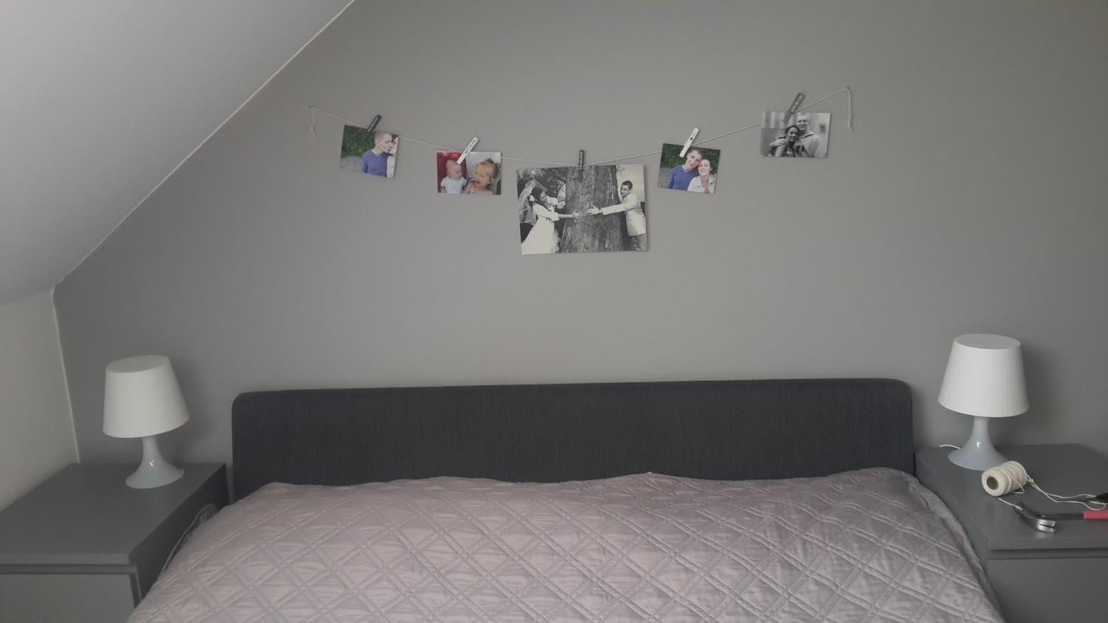 Tak sobie robię: DIY: zdjęcia na sznurku, czyli dekoracja pokoju