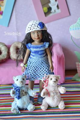 мишки тедди, коллекционные куклы
